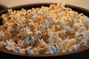 popcorn kokosolie